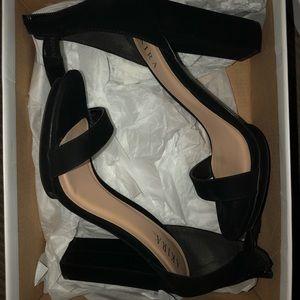 Akira black heels